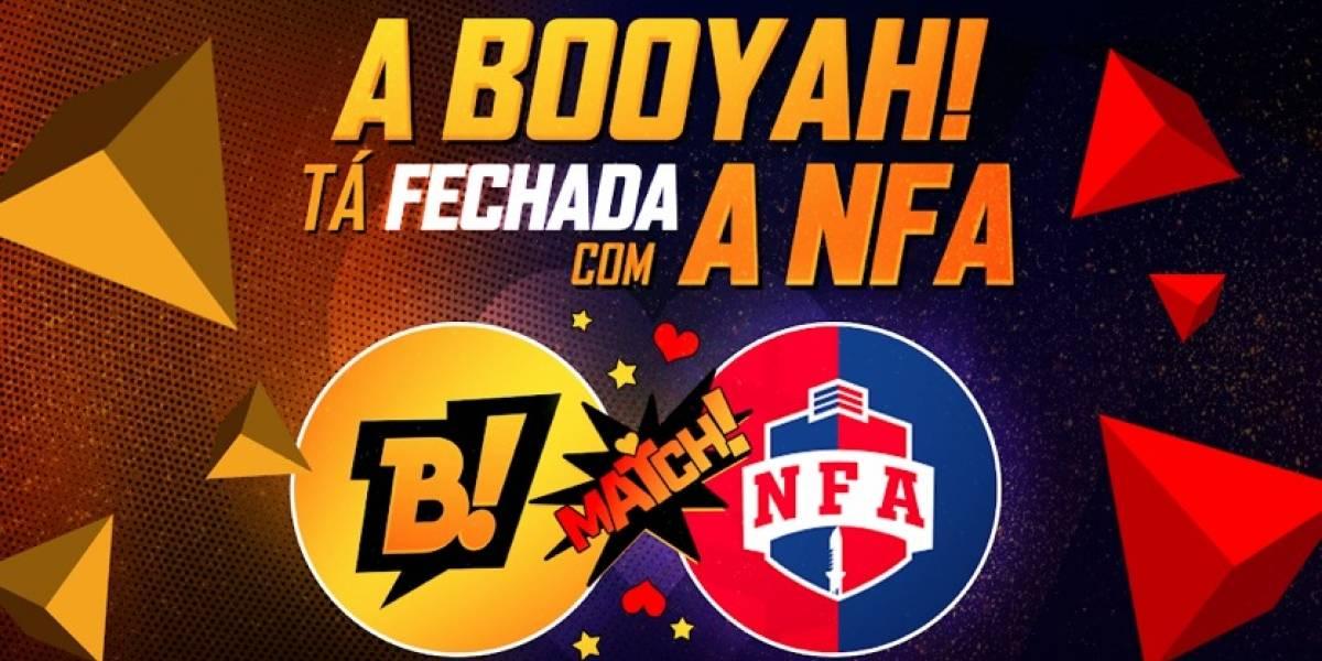 Battle royale: BOOYAH! e Liga NFA firmam parceria para transmissões de campeonatos de Free Fire
