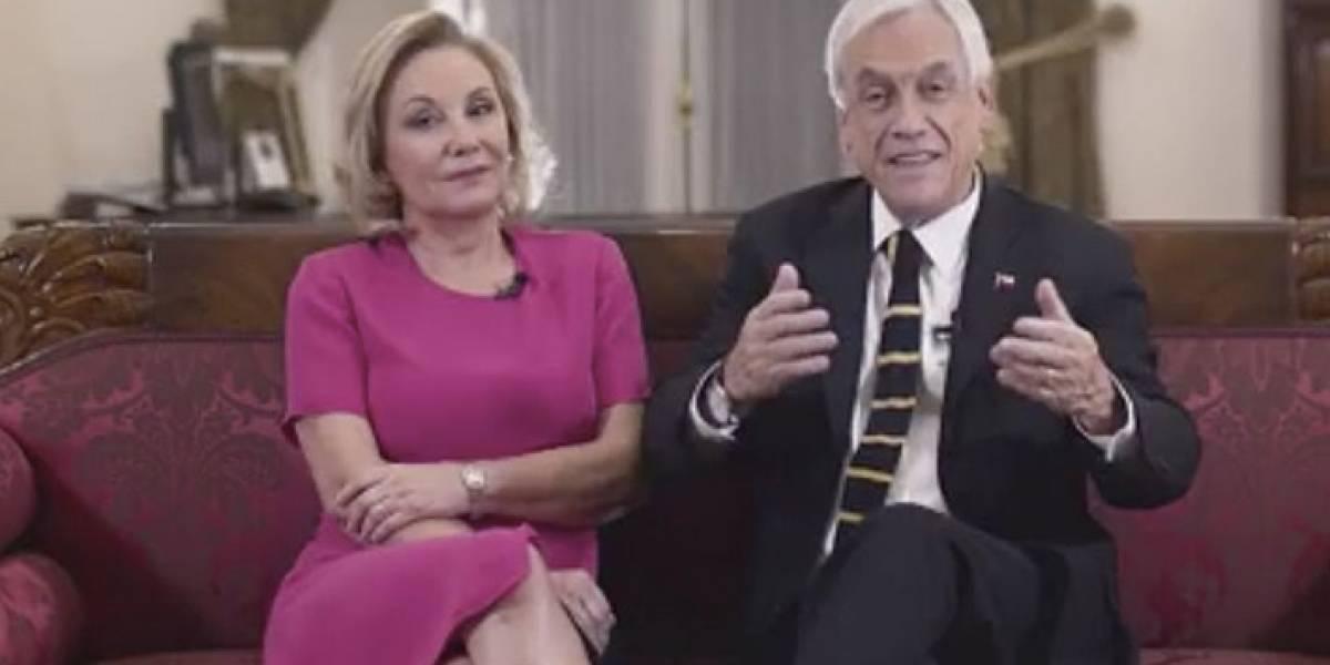 Presidente Sebastián Piñera y Primera Dama envían mensaje de apoyo a la Teletón 2020