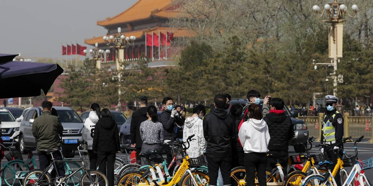 China realiza homenaje por fallecidos de Covid-19 en el mundo