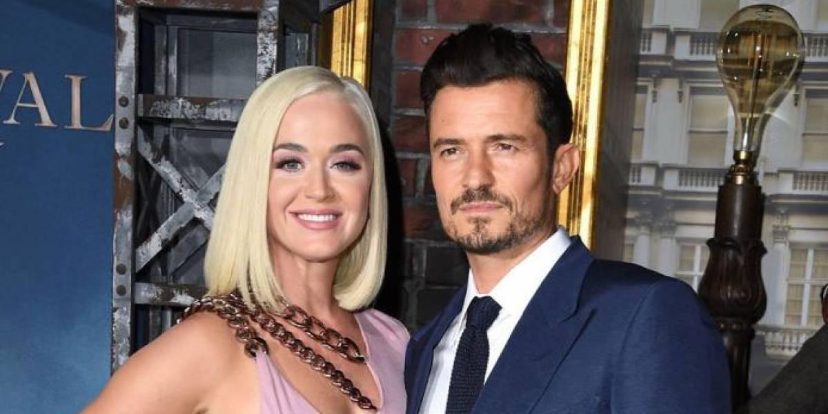 Katy Perry reveló el sexo de su bebé con una tierna foto