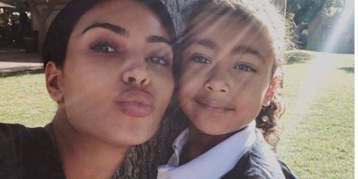 Kim Kardashian y otros diez famosos que compartieron inéditas fotos de sus hijos durante la cuarentena