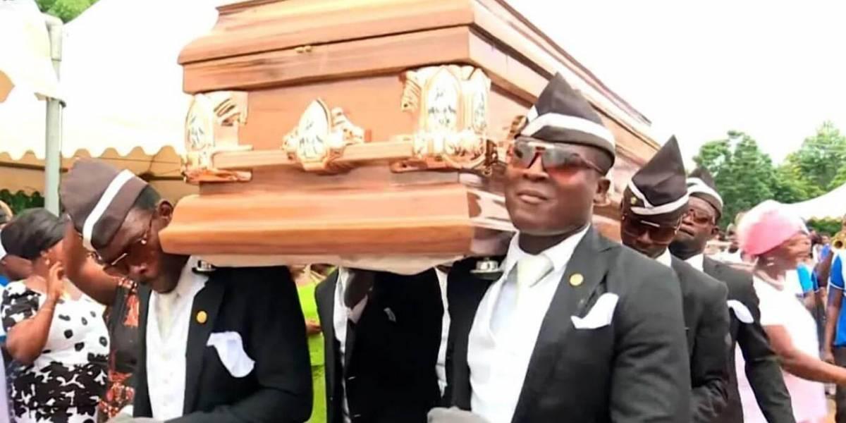 Líder de los africanos del ataúd revela a qué famoso sueña con llevar al cementerio