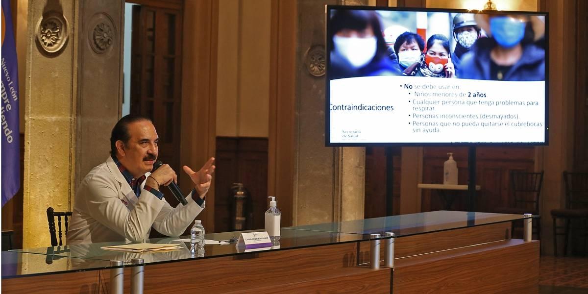 Usar cubrebocas será obligatorio en Nuevo León por Covid-19