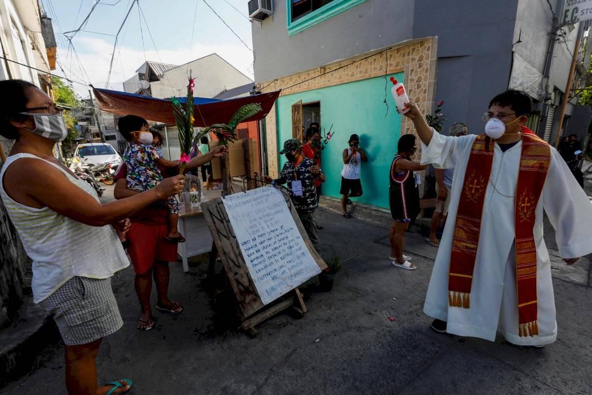 Filipinas celebra el Domingo de Ramos