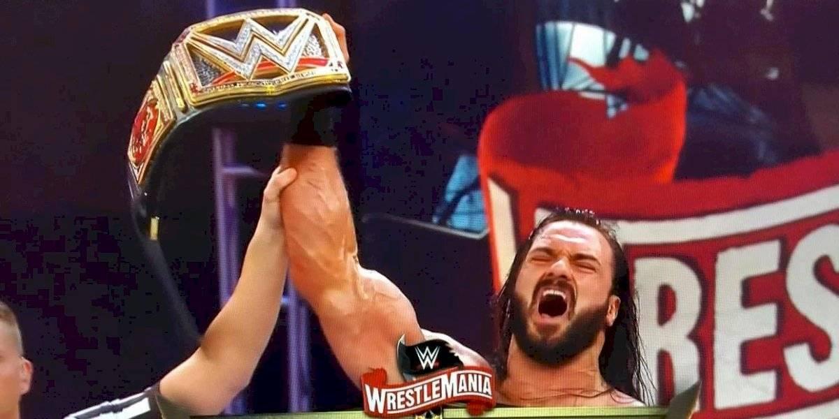 Drew McIntyre acaba con Brock Lesnar y es nuevo campeón WWE
