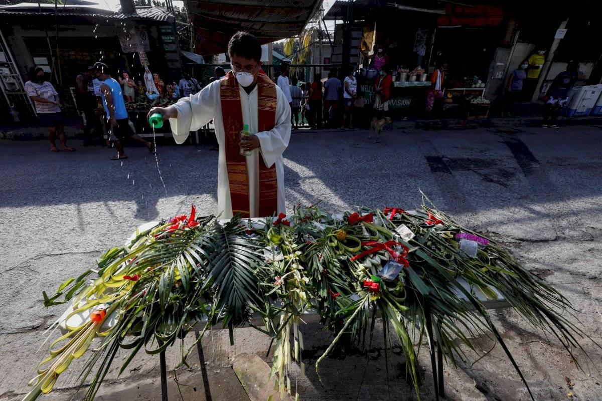 Filipinas celebra Domingo de Ramos