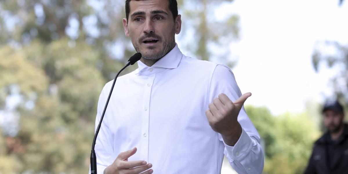 Como buen candidato Casillas presenta su fórmula para salvar la temporada europea