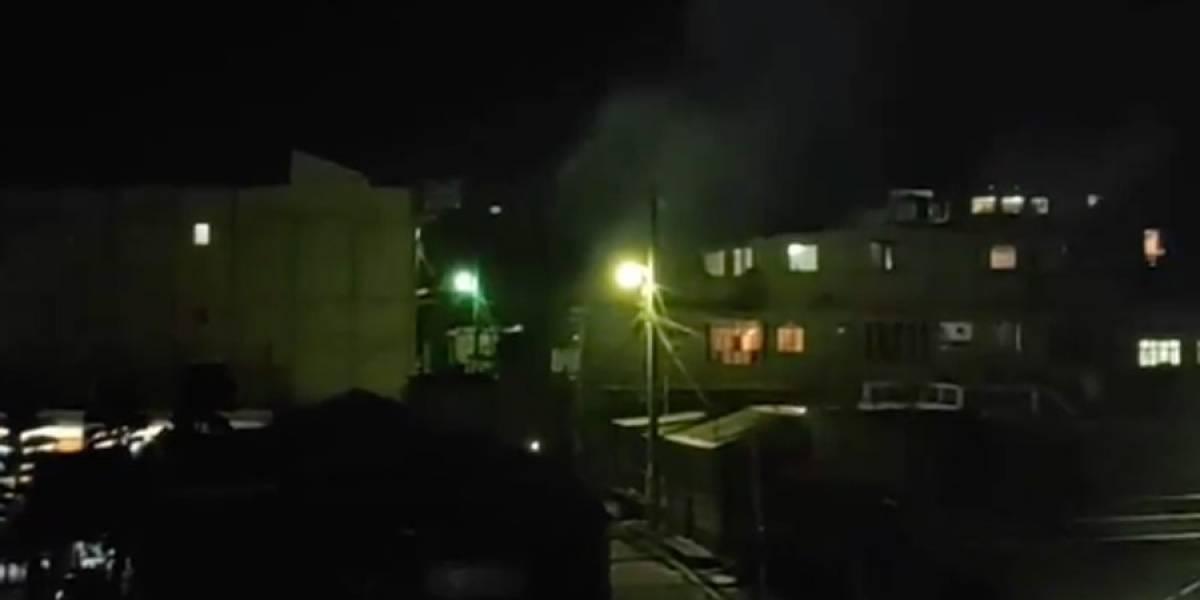 """VIDEO. """"¡Que viva Patzún!"""", gritan vecinos tras implementación de cordón sanitario"""