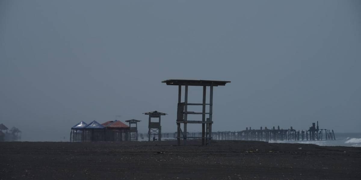 VIDEO. Covid-19: Playas del Pacífico desoladas tras restricciones
