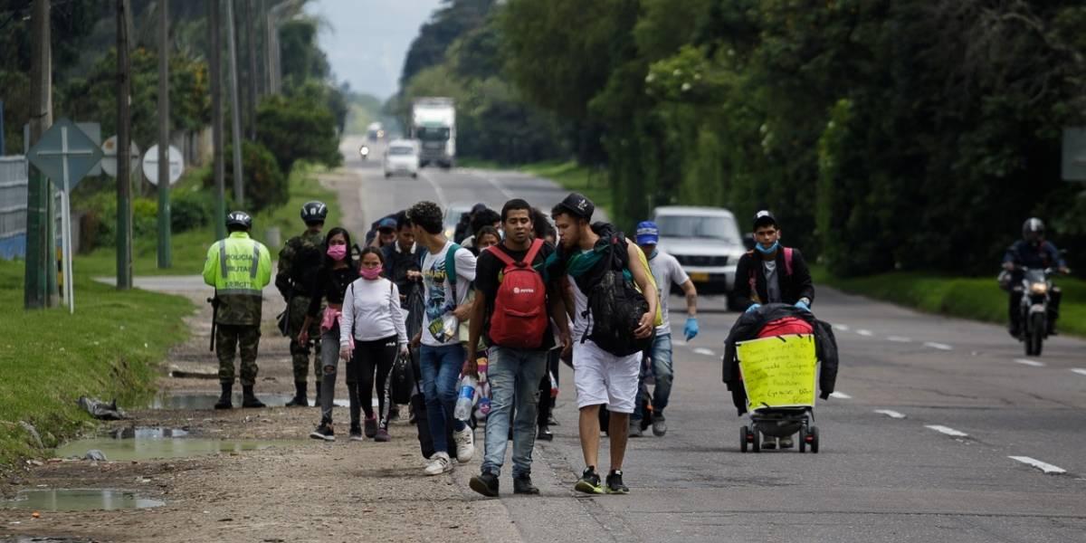 El coronavirus agudiza la exclusión de migrantes venezolanos