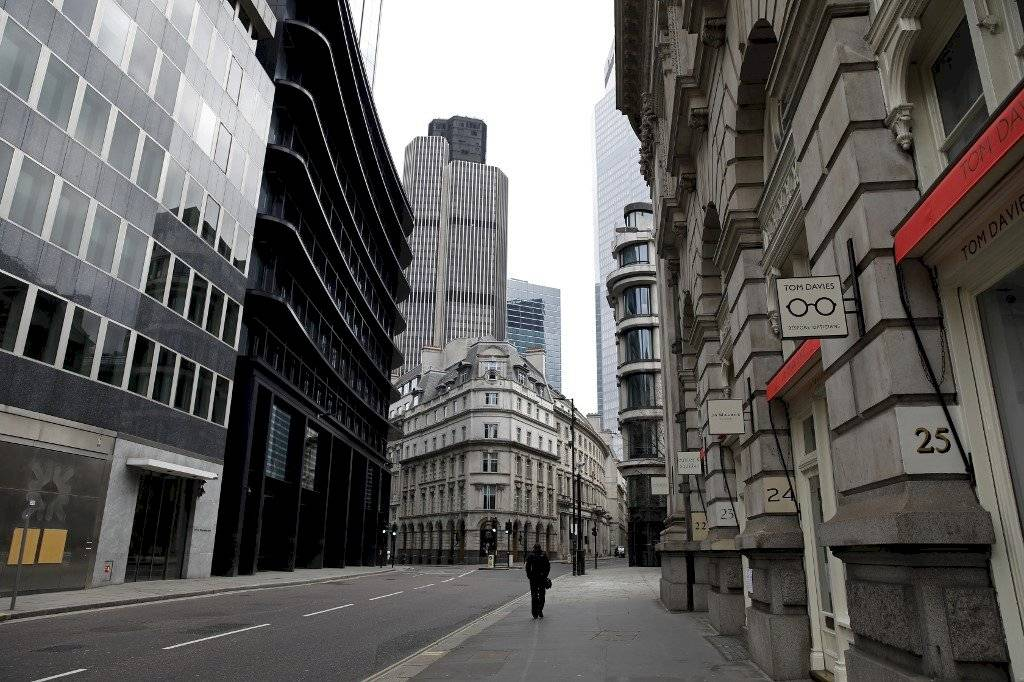 Calles en Londres, Reino Unido.