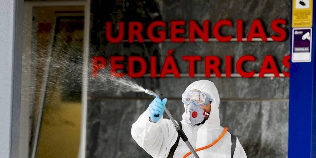 La curiosa y económica prueba que usan en una base militar para detectar infectados