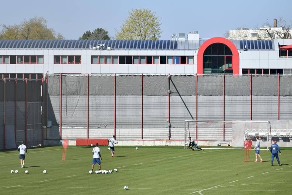 Bayern Münich regresa a los entranamientos