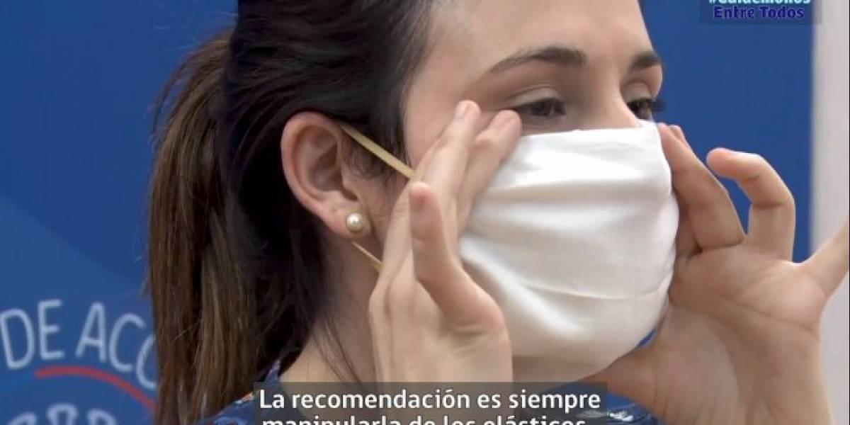 Minsal publicó tutorial para fabricar mascarillas caseras: científicos de EEUU revelan cuál es el material más seguro para confeccionarlas