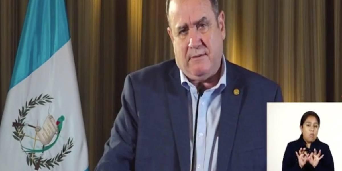 VIDEO. Alejandro Giammattei indica que hay 4 nuevos casos de Covid-19