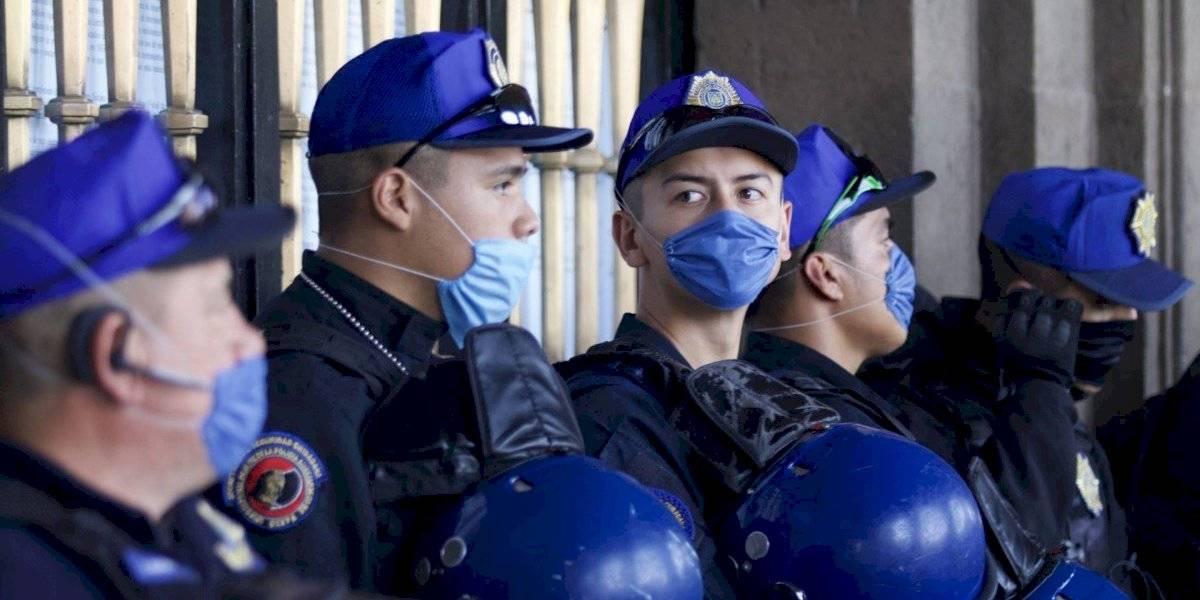 Descartan que policía muerto por Covid-19 se haya infectado en el Vive Latino