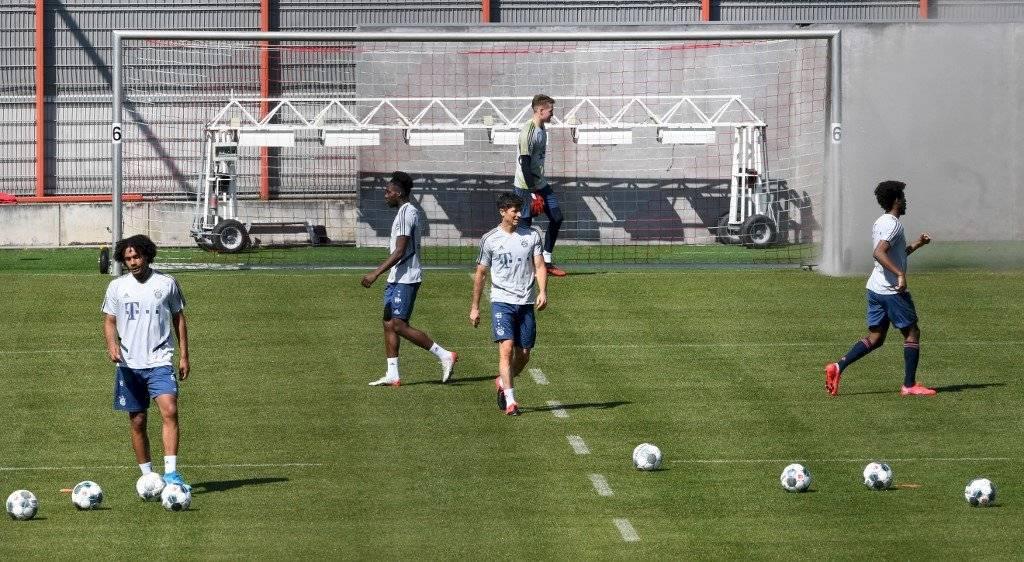 El Bayern Münich regresa a los entrenamientos