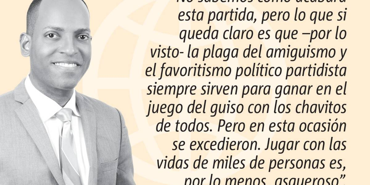 Opinión de Julio Rivera Saniel: Asqueroso