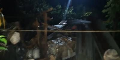 Fuertes vientos causan daños en viviendas en Suchitepéquez