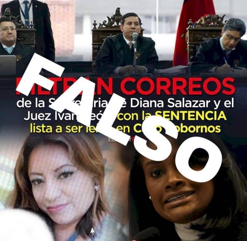 Noticias falsas sobre juicio contra Rafael Correa