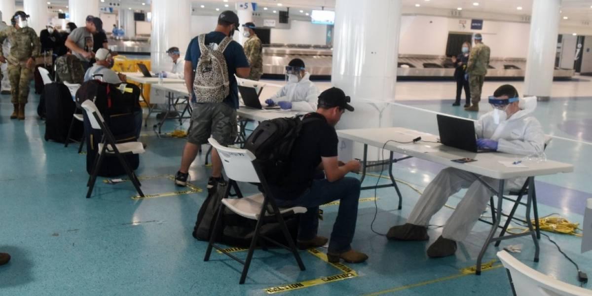 Viajeros denuncian que no se pudieron hacer pruebas de coronavirus en el aeropuerto