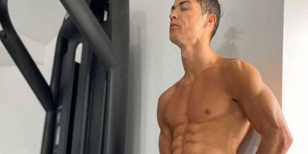 El nuevo reto viral de Cristiano Ronaldo para estar en forma