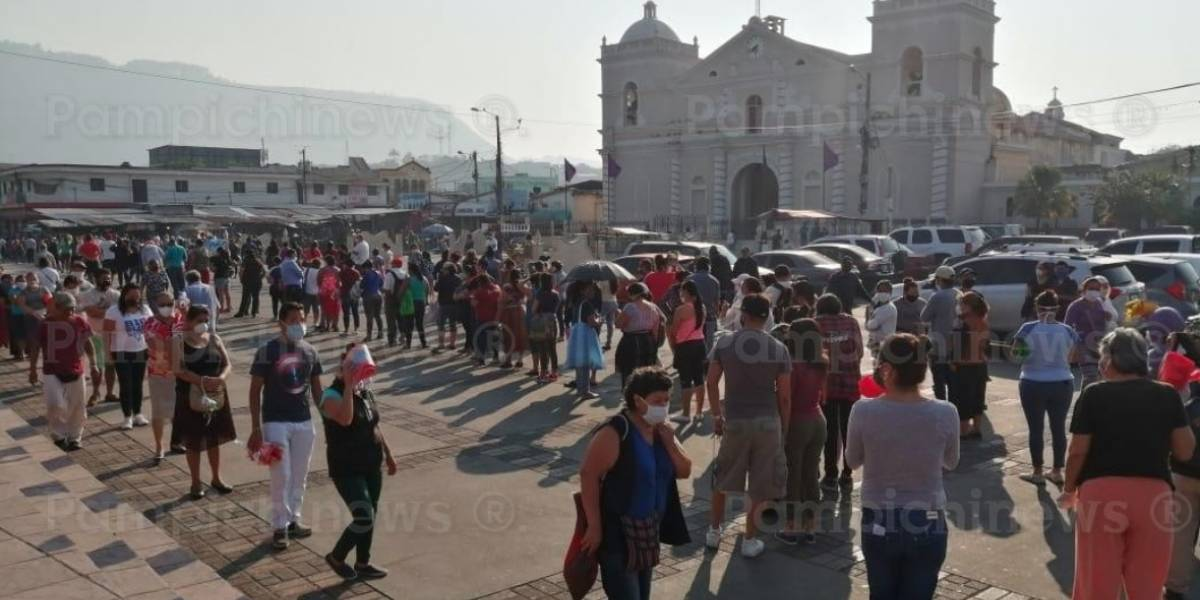 """Alcalde de Amatitlán asegura que personas """"se esconden"""" para no ser puestas en cuarentena"""