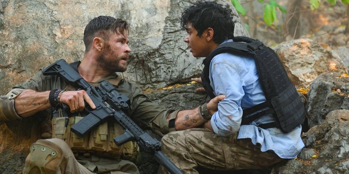 Netflix libera trailer de 'Resgate', filme com Chris Hemsworth