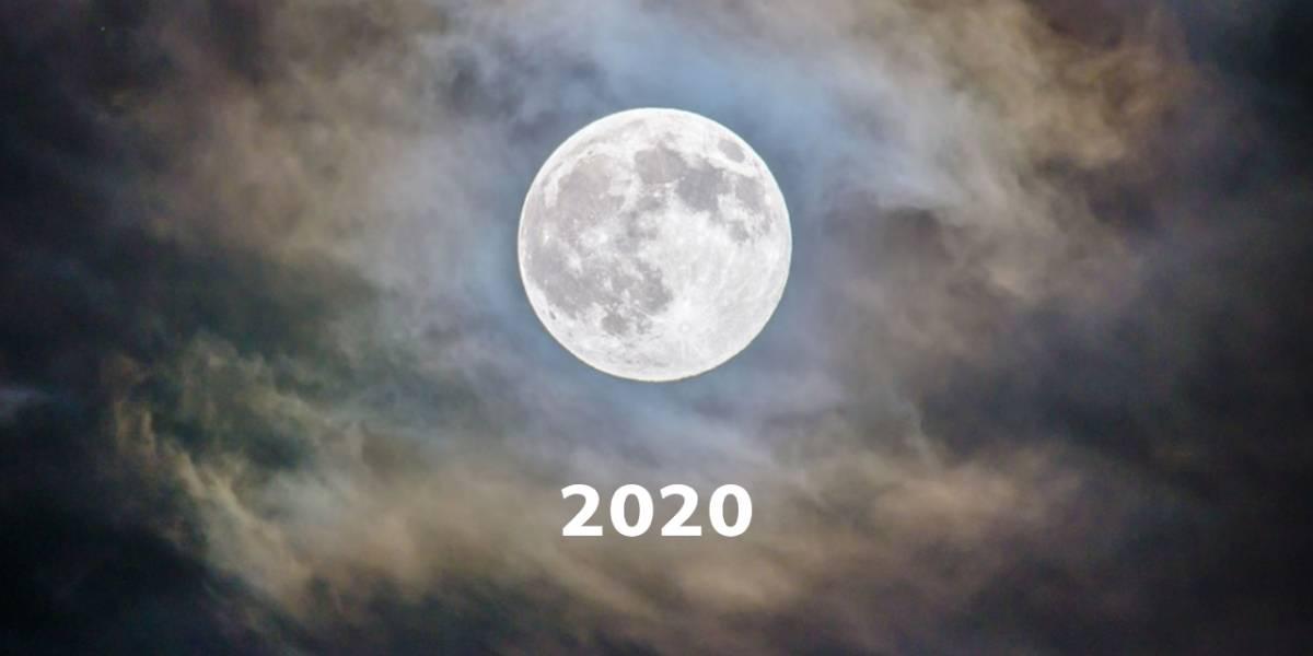 Superluna: estas son las siguientes que habrá en 2020