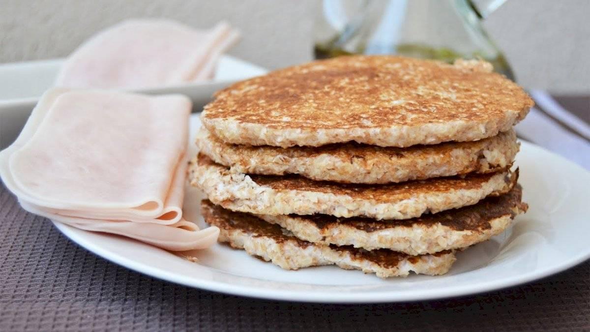 Las tortitas de avena son una excelente opción para el desayuno