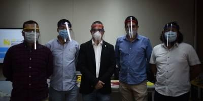 URL dona protectores faciales por emergencia del Coronavirus