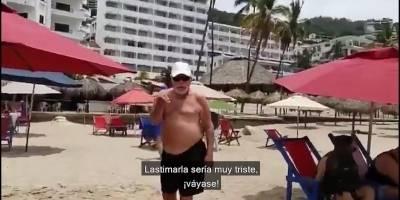 Turistas agreden a periodista en playas de Puerto Vallarta