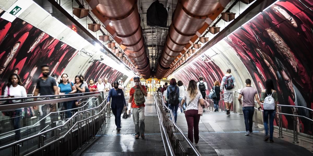 Metrô e CPTM veem aumento no número de passageiros em São Paulo
