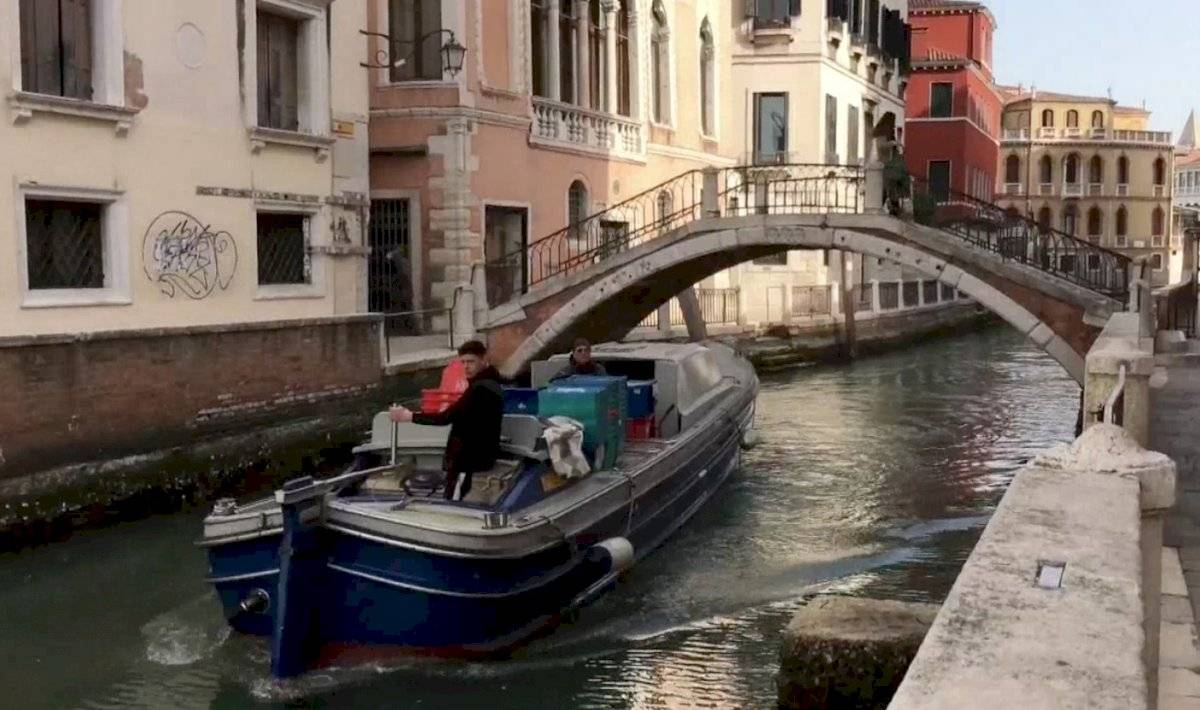 Venecia deshabitada