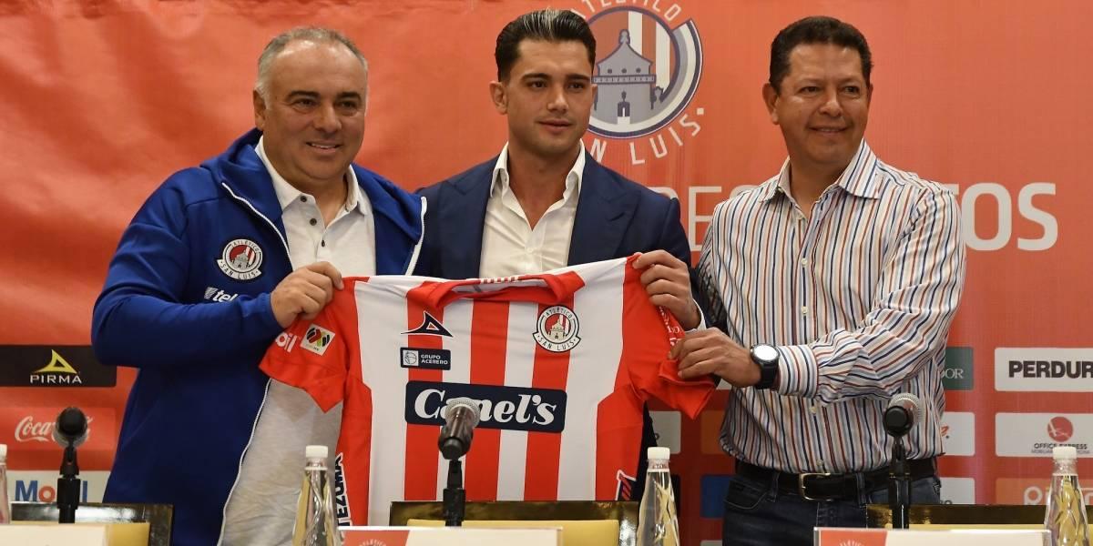 Presidente de Atlético San Luis da positivo a coronavirus por 2ª vez