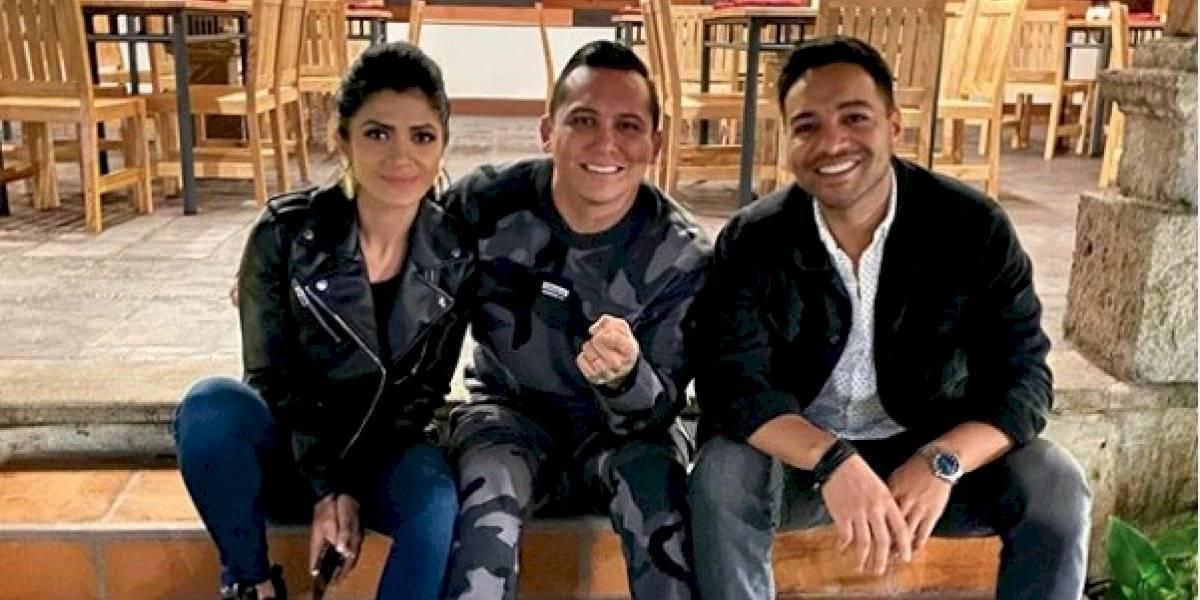 Pedro Cuevas y Edwin Luna cumplen reto y aparecen totalmente maquillados