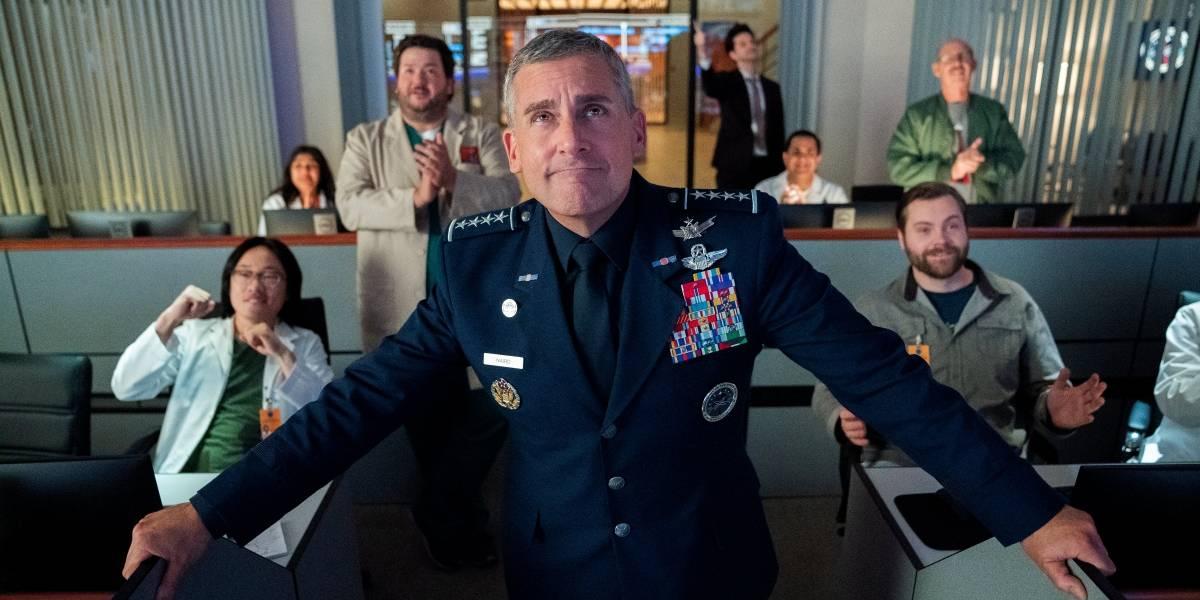 Netflix: primer vistazo de la nueva serie de Steve Carell junto al creador de The Office US