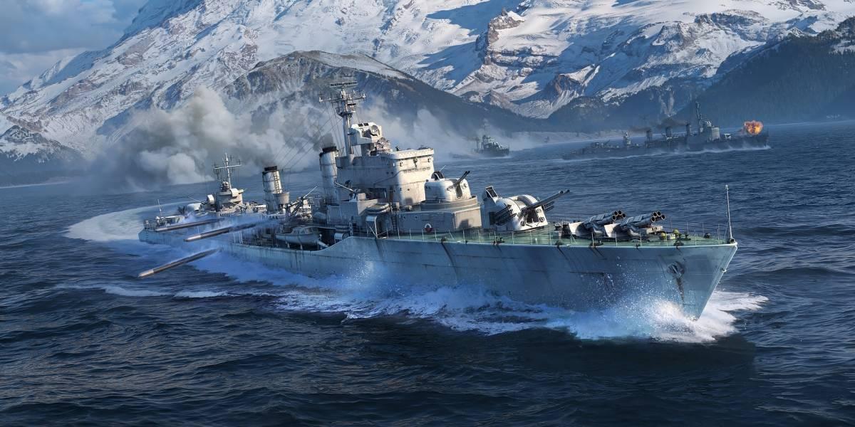 Com nova atualização, contratorpedeiros europeus chegam a todo vapor emWorldofWarships