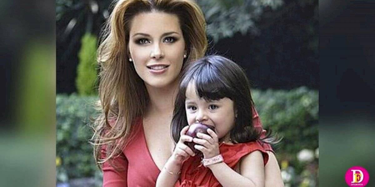 Alicia Machado publica video para presentar al papá de su hija en Instagram