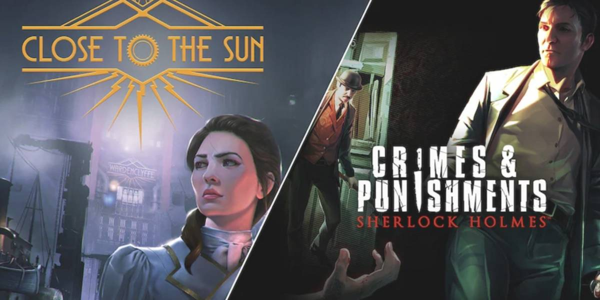 'Close To The Sun' e 'Sherlock Holmes' estão disponíveis gratuitamente na Epic Games Store por tempo limitado