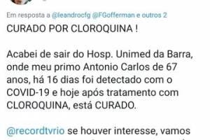 Fake News Cloroquina