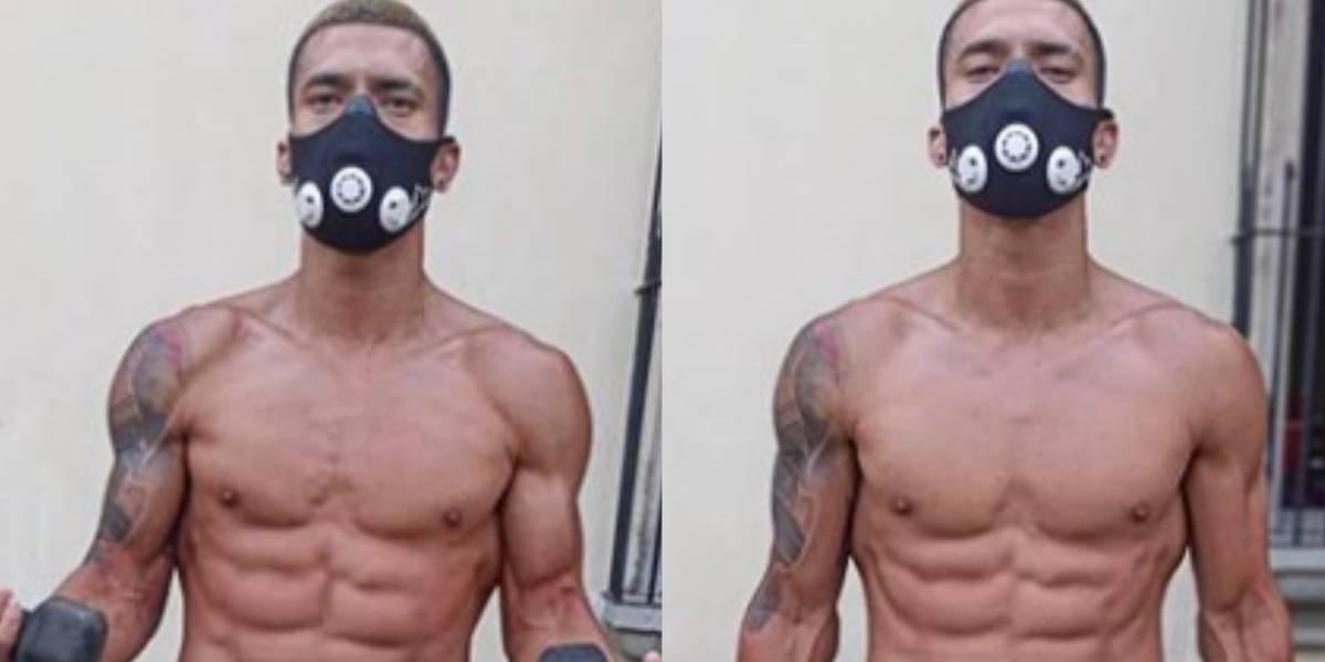 FOTOS. Futbolista crema entrena sin ropa interior y causa furor en redes sociales