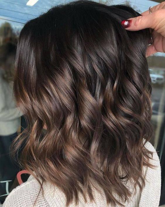 tintes de cabello para morenas 2020