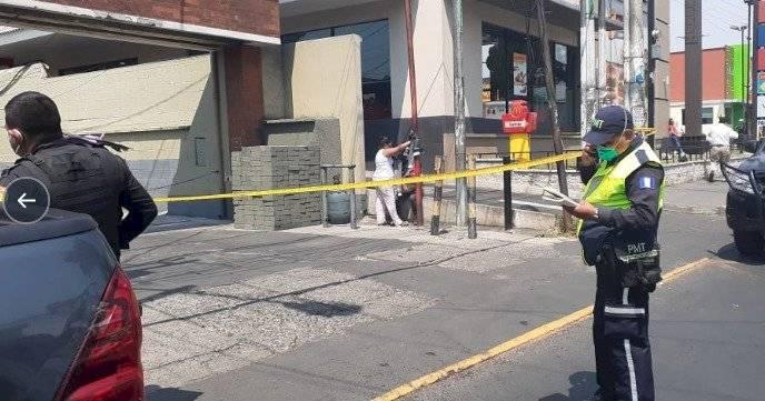 niña muere en cercanías de estación de PNC en Mixco
