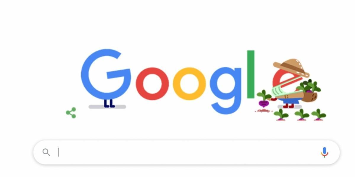 Google compartilha doodle para homenagear trabalhadores rurais e agricultores