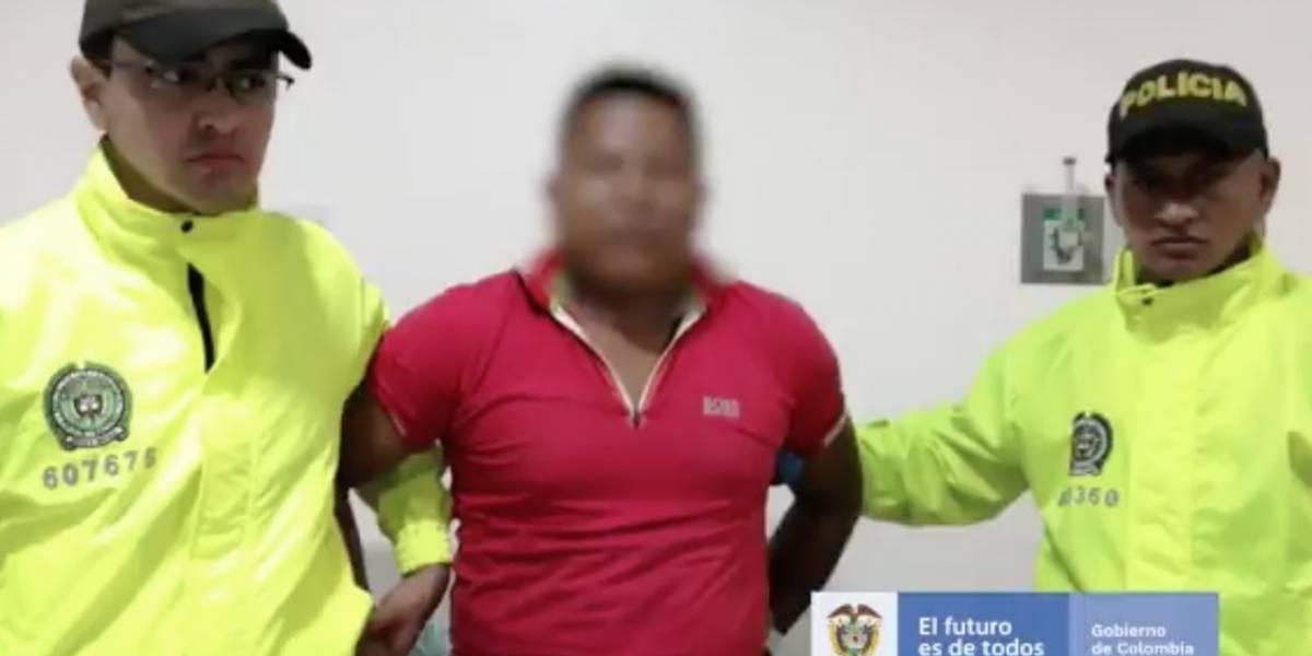 Detienen a disidente de las Farc que asesinaba líderes sociales y excombatientes