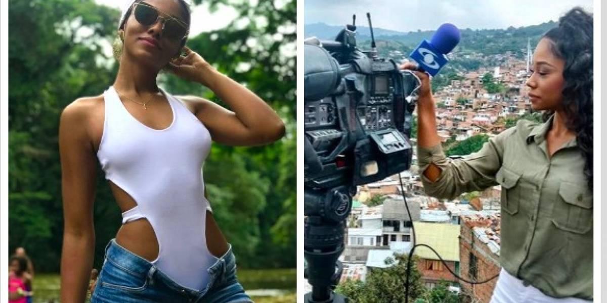 La sensual presentadora de 'Noticias Caracol' que tiene enloquecidos a los televidentes