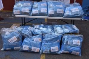 clubes rotarios hacen donación para emergencia del coronavirus