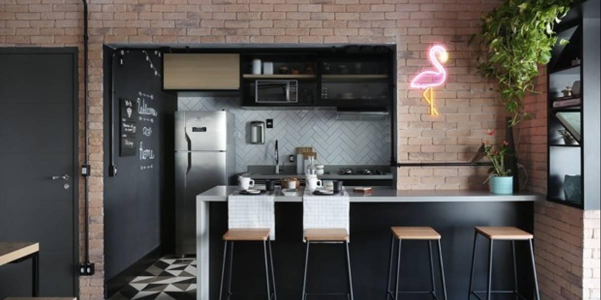 O estilo industrial de decoração ainda é tendência; confira algumas ideias