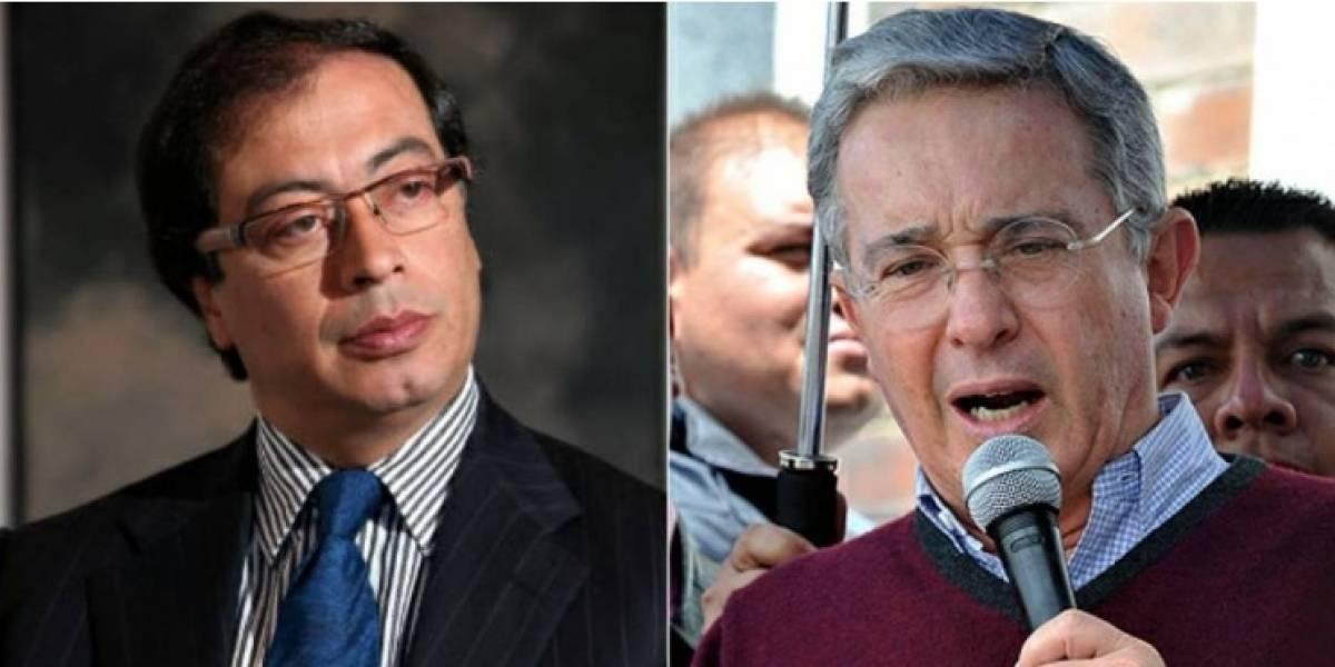 Uribe versus Petro: el nuevo round entre los senadores en Twitter